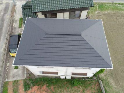カラーベスト屋根カバー葺き