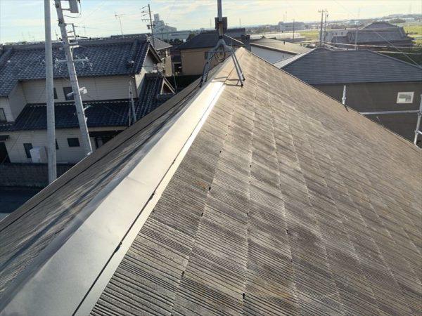 カラーベスト屋根棟トタン修理