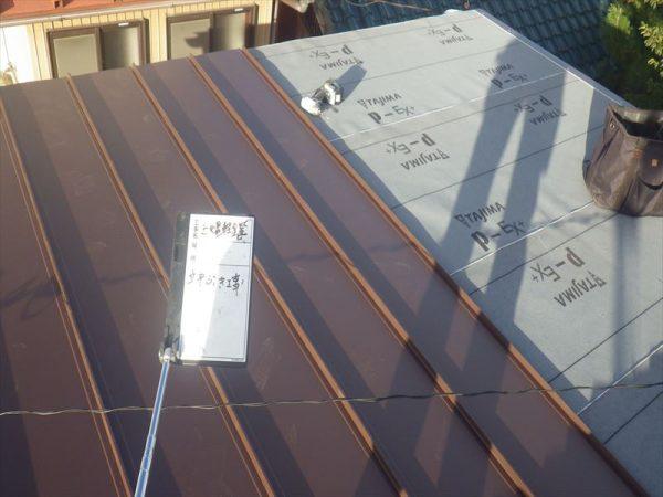 トタン葺き屋根の張り替え